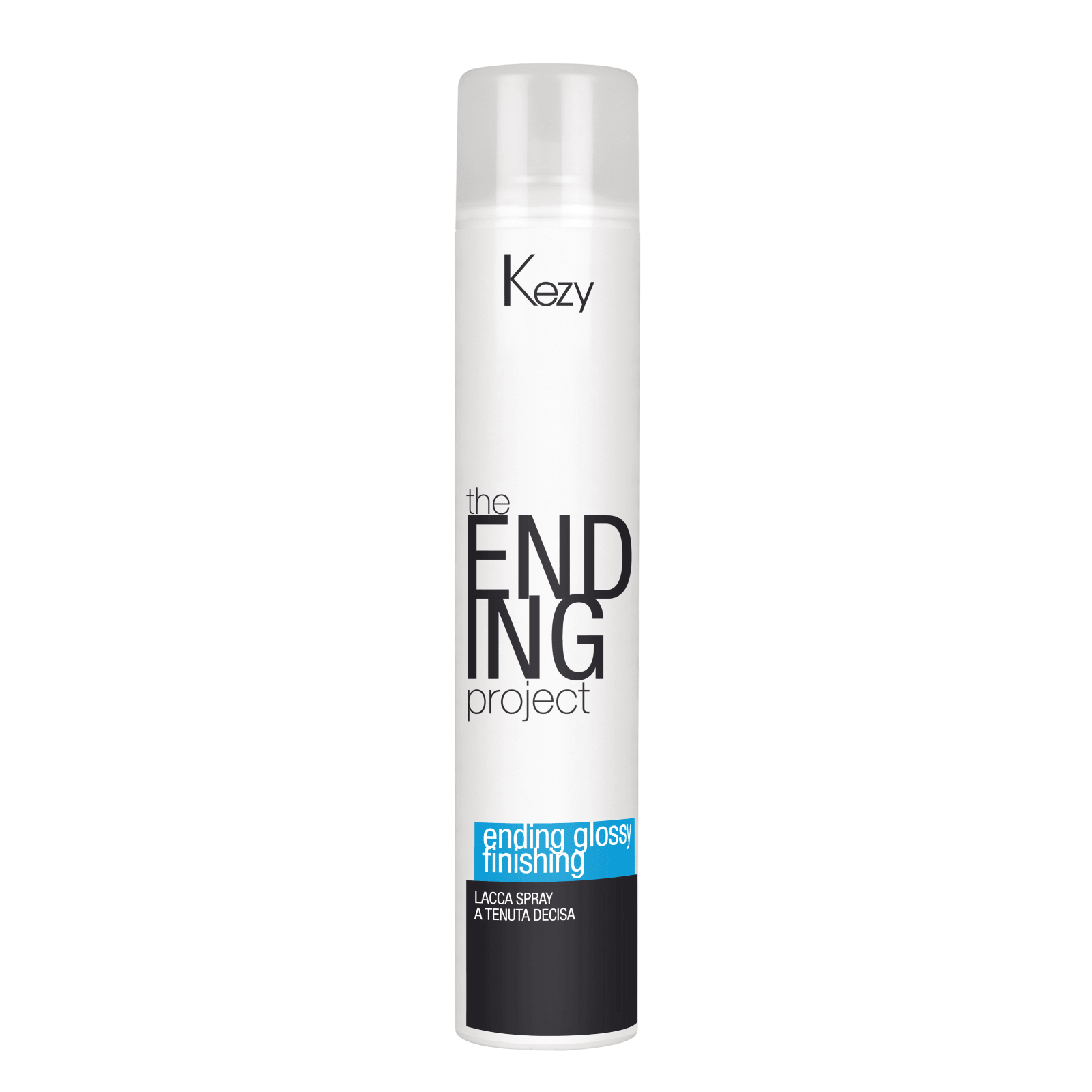 "Kezy, Спрей-лак надежной фиксации ""Ending glossy finishing spray firm hold"""